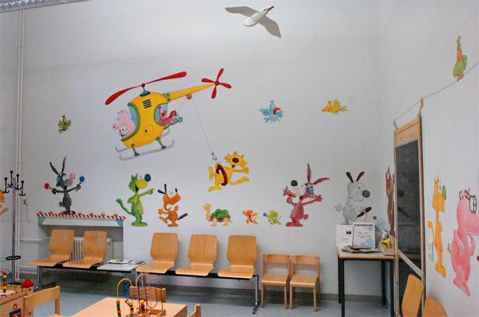 Jakob Mohring Wand Bemalen Gestaltung Skizzen